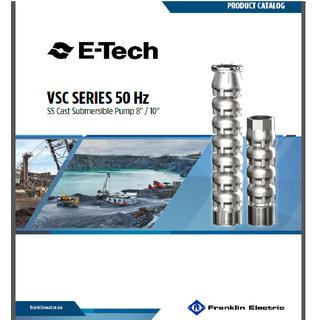 STAINLESS CASTED STEEL SUBMERSIBLE PUMPS  (SS304-316-DUPLEX) 8'',10''